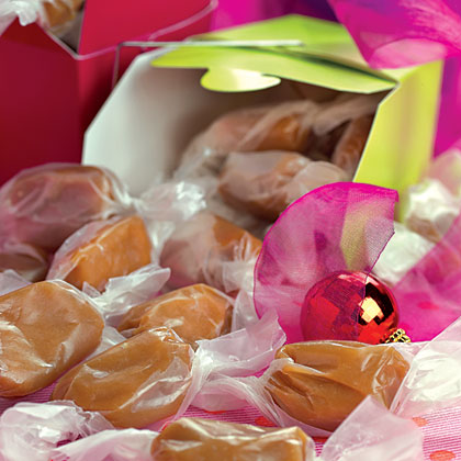 Nana's Christmas Caramels                            RecipeThis yummy caramel recipe comes from an old family recipe and straight from a grandmother's heart.