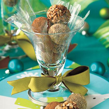 Peanut Butter-Cocoa Truffles Recipe