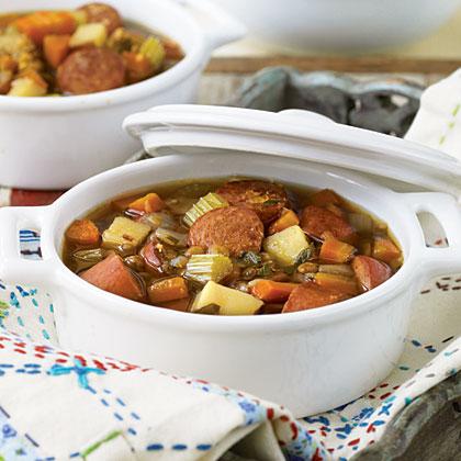 Collins' Best Lentil Soup