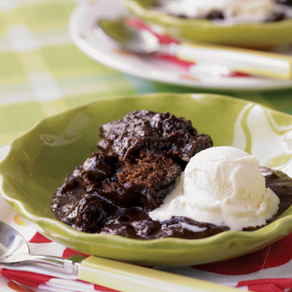 Hot Fudge Spoon Cake