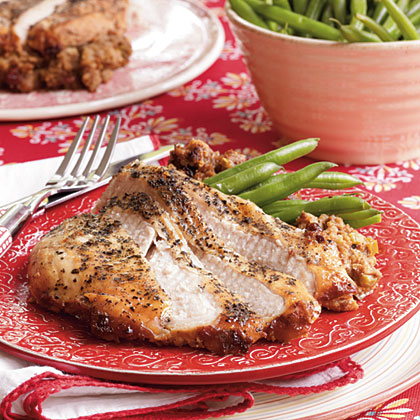 Slow-Cooker Turkey & Dressing