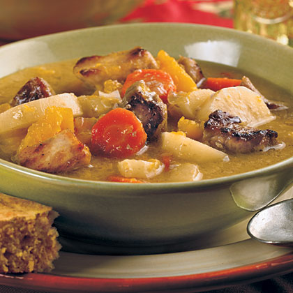 Hearty Winter Pork Stew