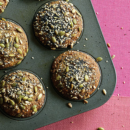 Thousand-Seed Banana Date MuffinsRecipe