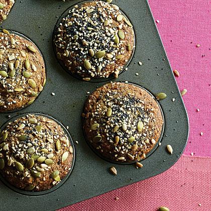 Thousand-Seed Banana Date Muffins