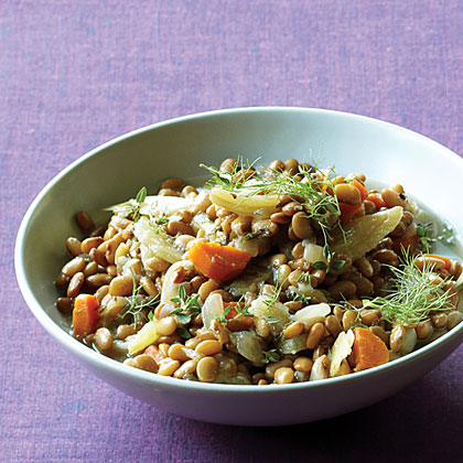 Tepary Bean and Fennel Ragout