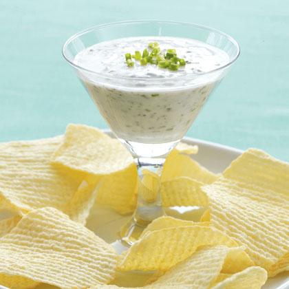 Garlic and Herb Yogurt Dip