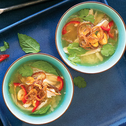 Thai Chicken and Rice Soup