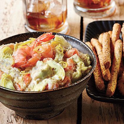 Warm Artichoke-Shrimp Dip