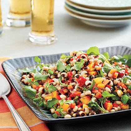 Lucky Black-eyed Pea Salad