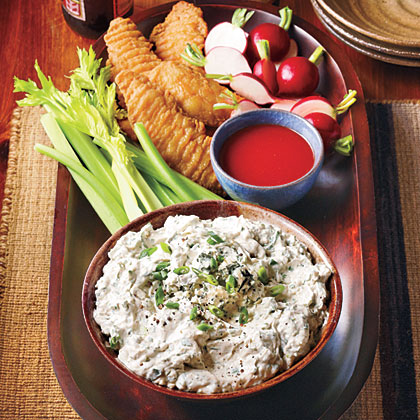 """Blue Cheese """"Hot Wing"""" Dip"""