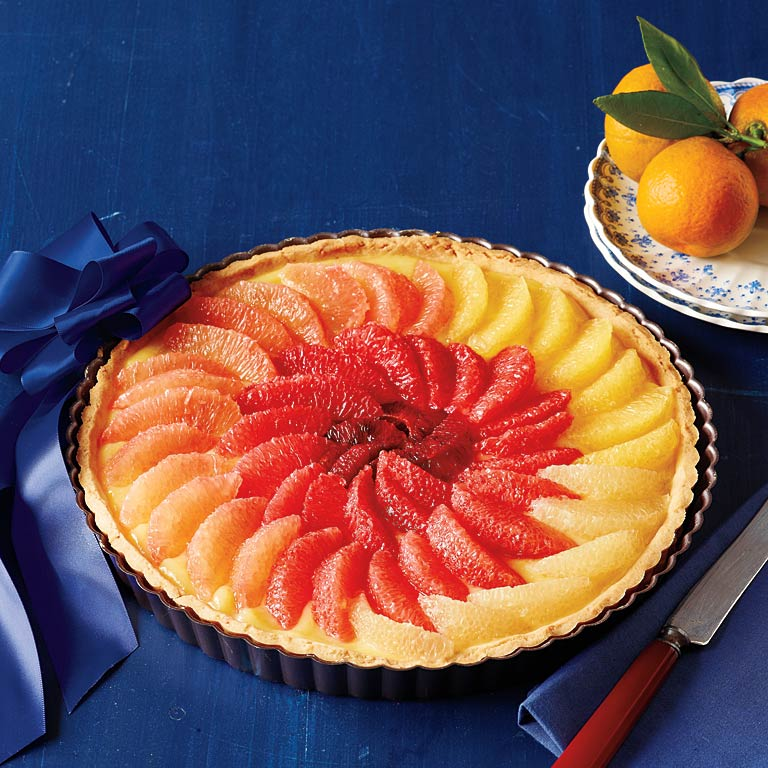 Elegant Citrus Tart Recipe | MyRecipes