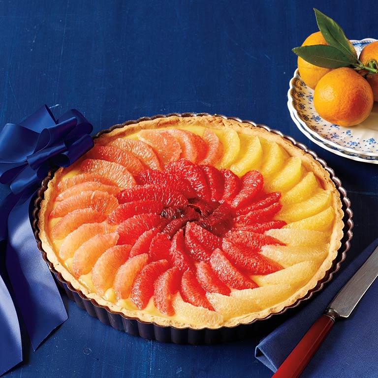 Elegant Citrus Tart