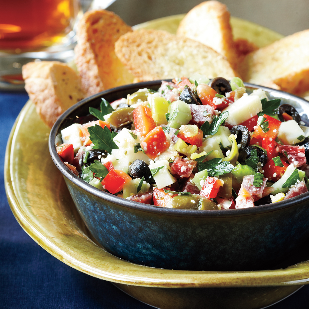Muffuletta Dip