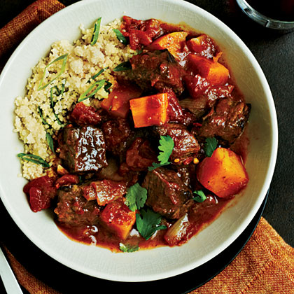Take your basic beef stew to the next level by making this simple, fragrant beef tagine featuring butternut squash.Beef Tagine with Butternut Squash