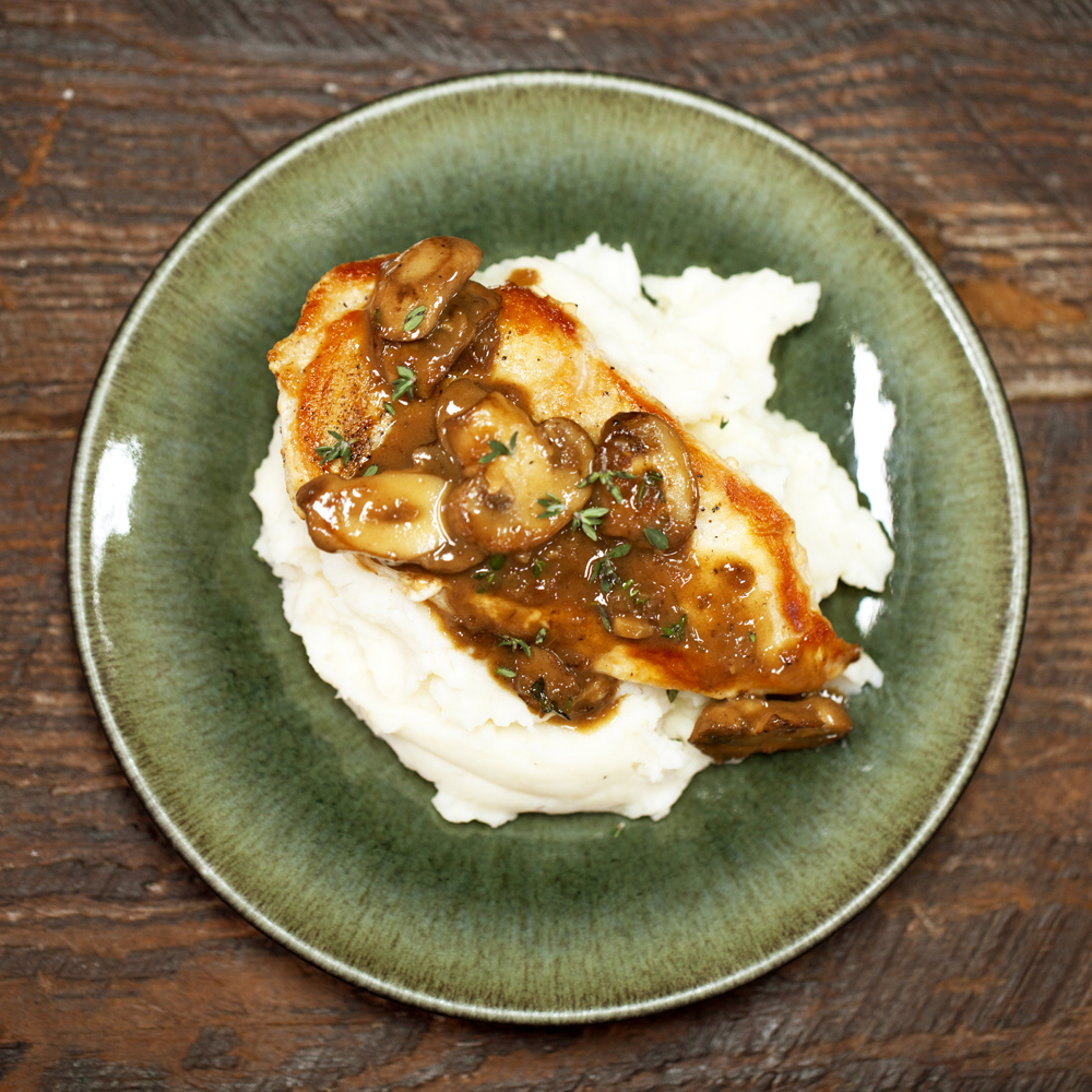 Chicken With Mushroom Sauce Recipe Myrecipes