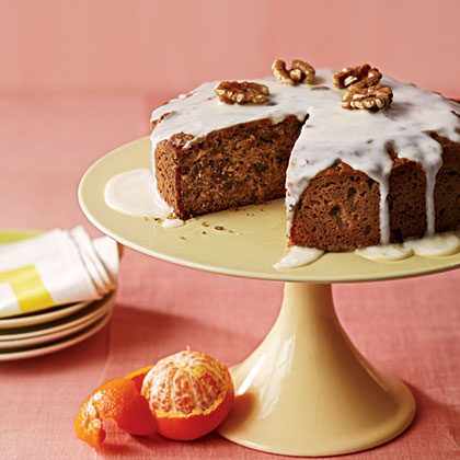 Clementine-Date Cake