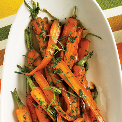 Herb-Glazed Carrots Recipe