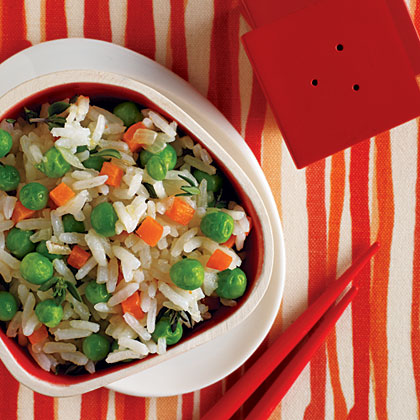 Rice and Green Peas with Shrimp Butter Recipe
