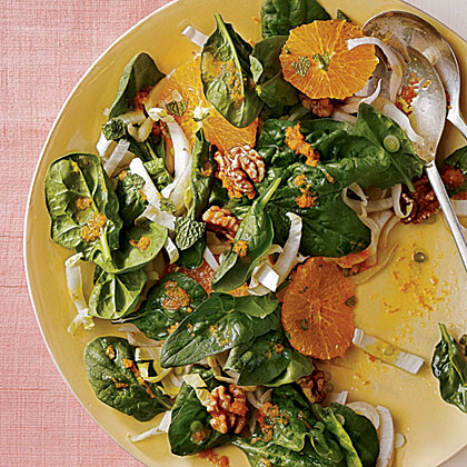 Spinach, Endive, and Tangelo Salad