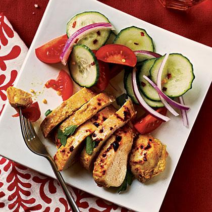 Tandoori-Spiced ChickenRecipe