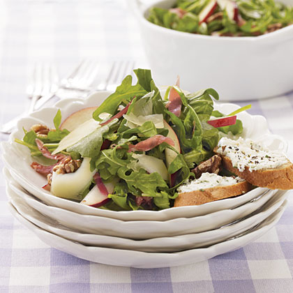 Arugula Salad with Prosciutto and Pears Recipe