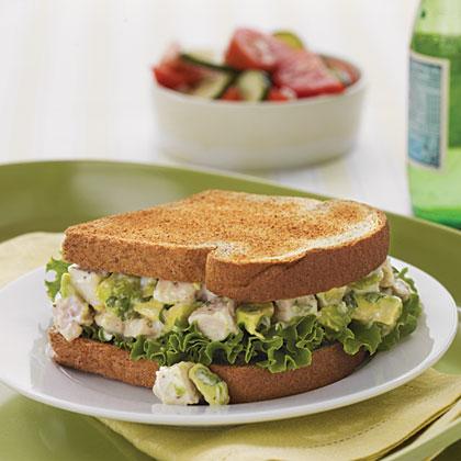 Avocado Chicken Salad SandwichesRecipe