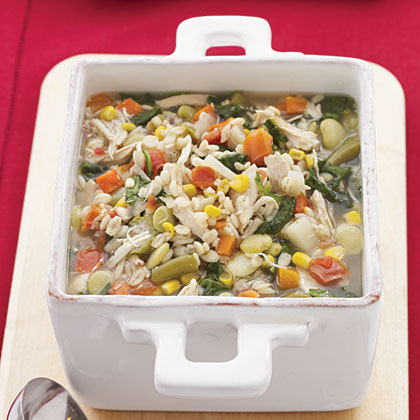 Chicken-Vegetable-Barley SoupRecipe