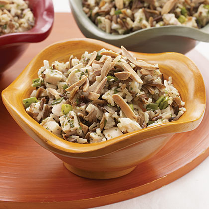 Chicken and Wild Rice Salad with Orange-Mango VinaigretteRecipe