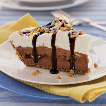 Chocolate-Toffee Ice-Cream Pie