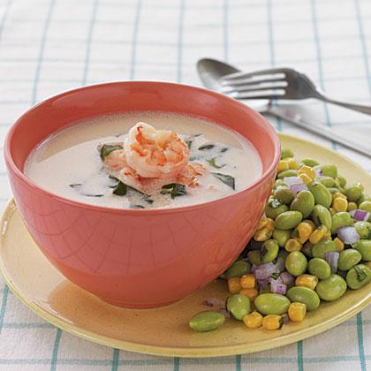 Coconut Shrimp Soup Recipe | MyRecipes.com