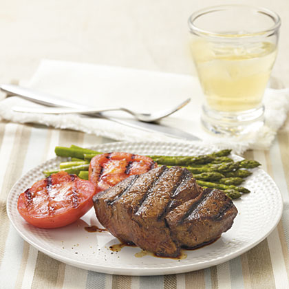 Coffee-Marinated Beef Tenderloin Steaks