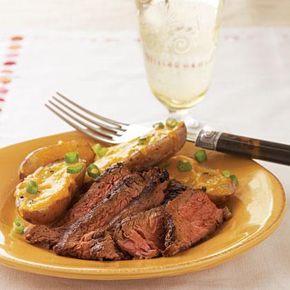 Cowboy Flank Steak Recipe