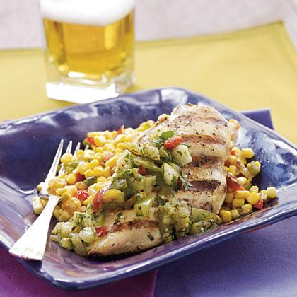 Green Salsa Chicken Recipe