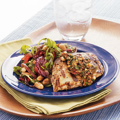 Grilled Sun-Dried Tomato Chicken Breast