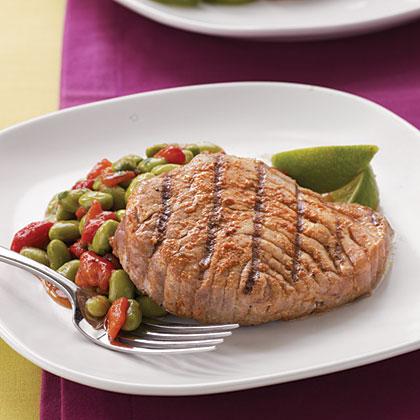 Grilled Thai-Spiced Tuna Steak
