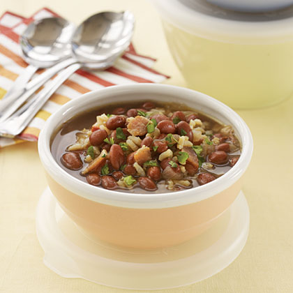 Jamaican Red Beans and Rice Soup Recipe
