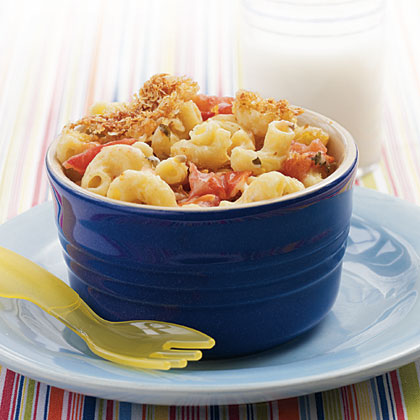 Mac and Cheese with Roasted Tomatoes Recipe
