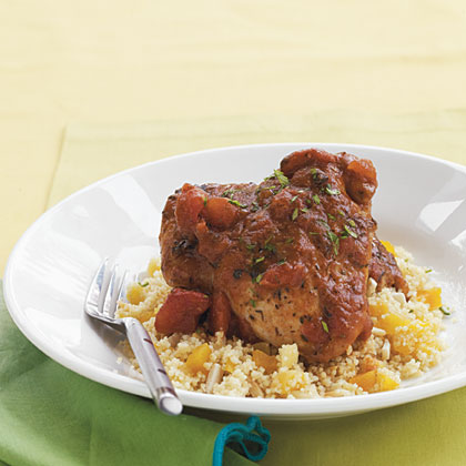 Moroccan-Spiced Chicken Thighs Recipe