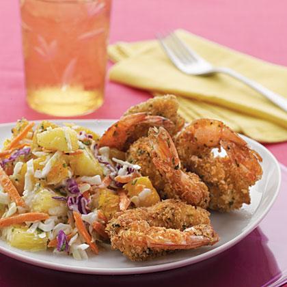 Pan-Fried Shrimp