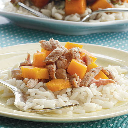 Pork and Squash Stir-FryRecipe