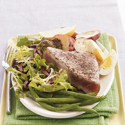 Seared Herbed Tuna Recipe