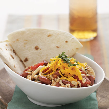 Southwestern Red Beans and Rice