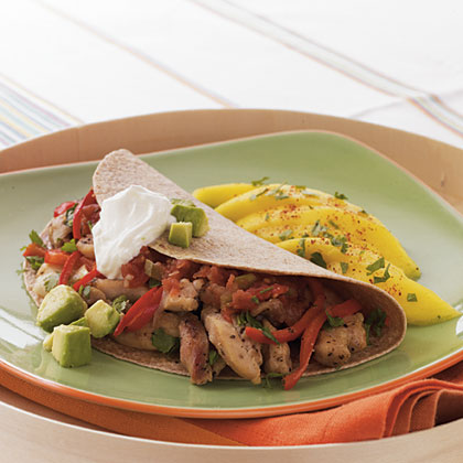 Spicy Chicken FajitasRecipe
