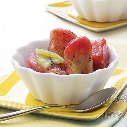 Strawberry-Kiwi Freeze