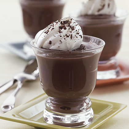Triple-Chocolate PuddingRecipe