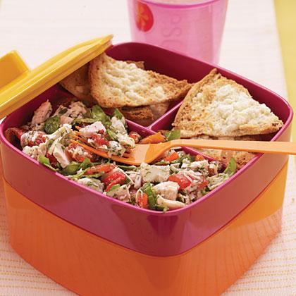 Tuna, Artichoke, and Roasted Red Pepper Salad