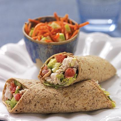 Turkey Cobb Salad Roll-Ups