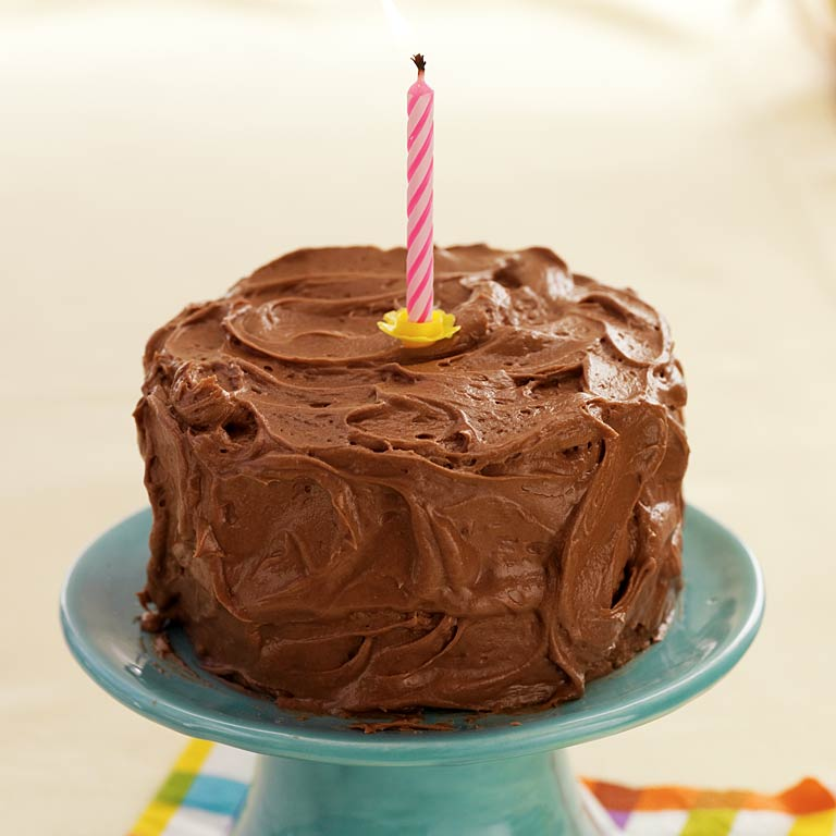 Yellow Cake with Chocolate FrostingRecipe