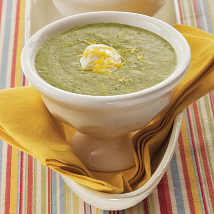 Zesty Spinach Soup
