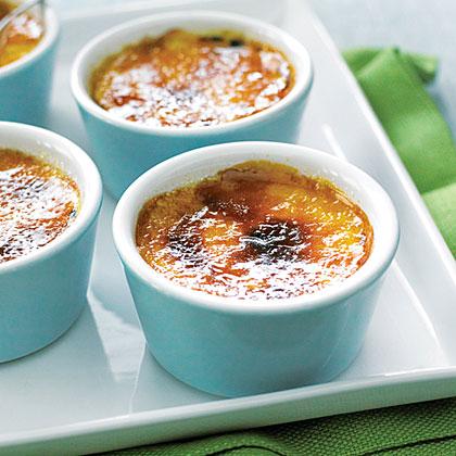 Tangerine Crème Brûlée